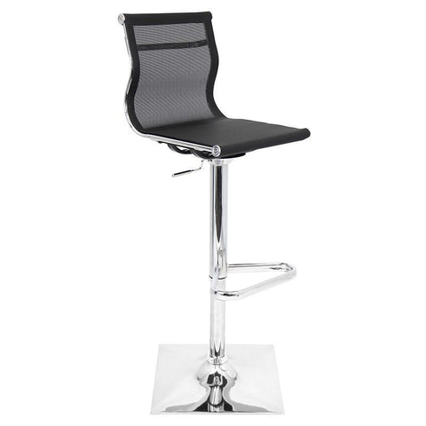 LumiSource BS-TW-MIRAGE BK Mirage Bar Stool - BarstoolDirect.com