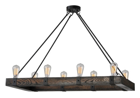 Ren-Wil LPC088 Salvatore Wood Chandelier - Peazz.com
