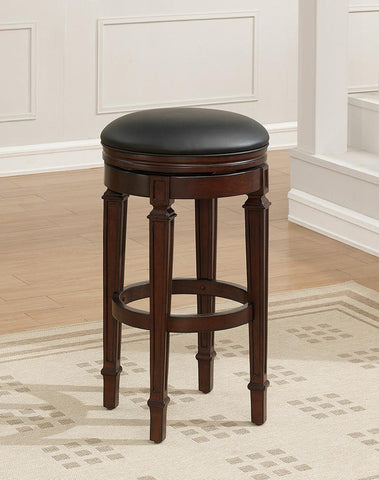 American Heritage Billiard 100629NAV Cambridge Bar Height Stool in Navajo - BarstoolDirect.com - 1