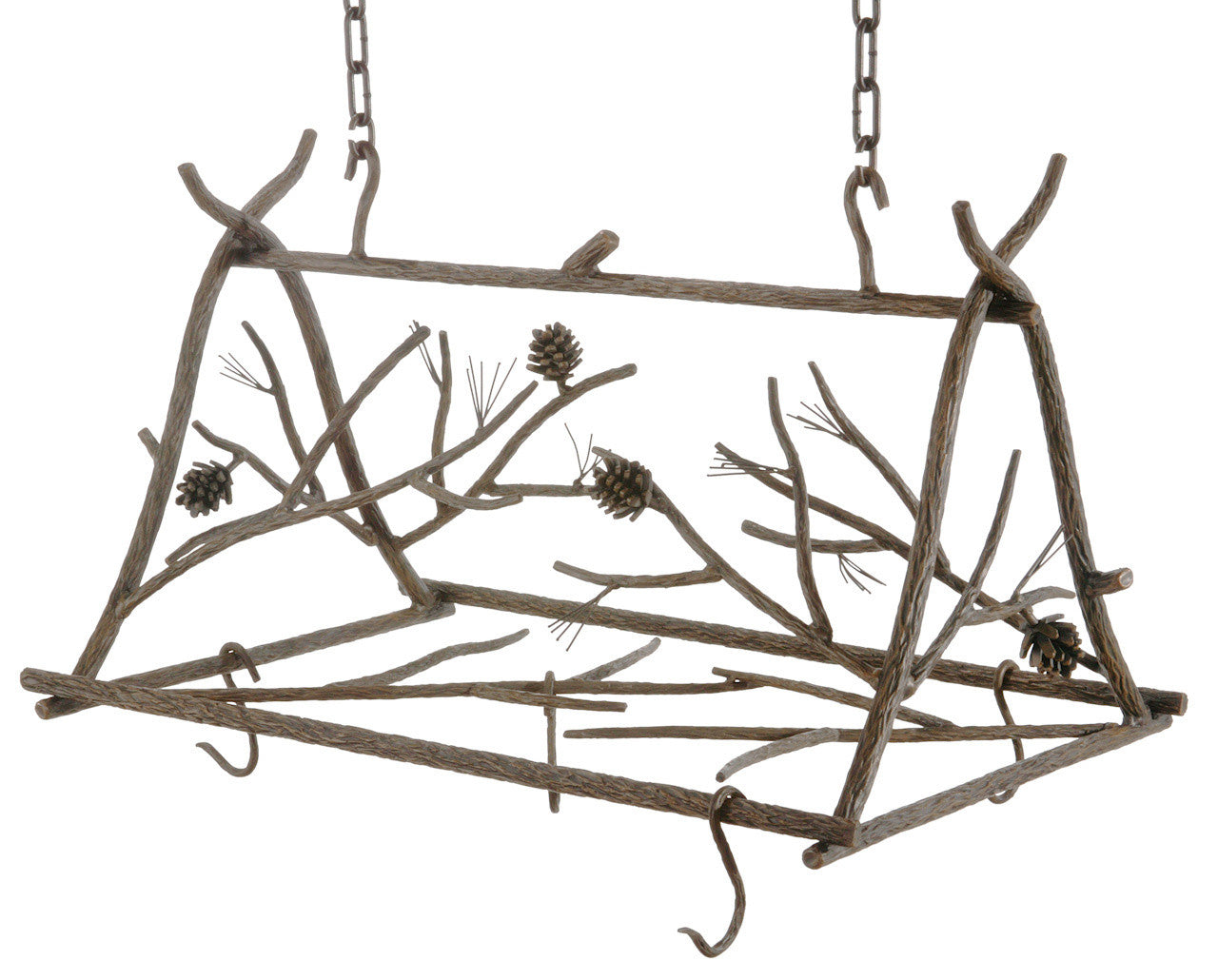 Stone County Pot Rack Small Natural Bark 8201