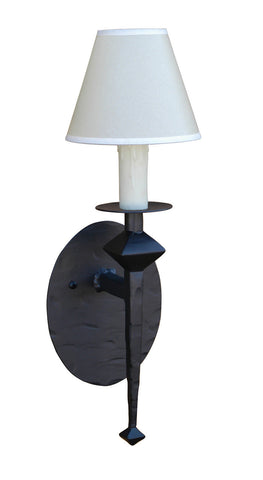 Stone County Ironworks 904-260 Forest Hill Single Wall Sconce - Peazz.com