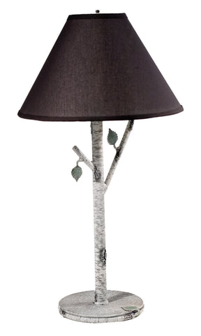 Stone County Ironworks 936-015 Whisper Creek Table Lamp (ivory bark) - Peazz.com