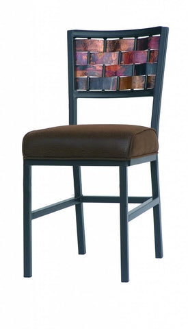 Stone County Ironworks 940-820-COP-FDB Rushton Side Chair Copper - Peazz.com