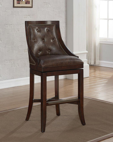 American Heritage Billiard 126162 Valencia Counter Height Stool - BarstoolDirect.com - 1