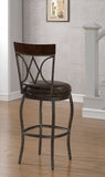 American Heritage Billiard 130148 Infinity Bar Height Stool - BarstoolDirect.com - 2
