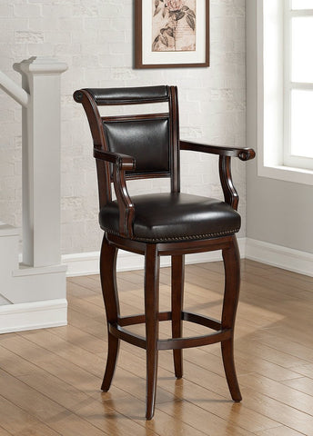 American Heritage Billiard 130151 Marco Bar Height Stool - BarstoolDirect.com - 1