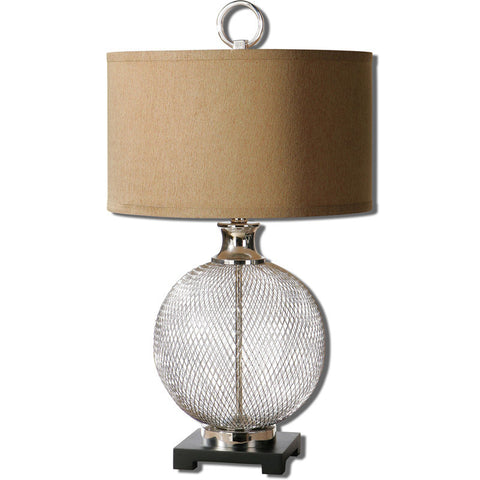 Uttermost 26589-1 Catalan Metal Accent Lamp - UTMDirect