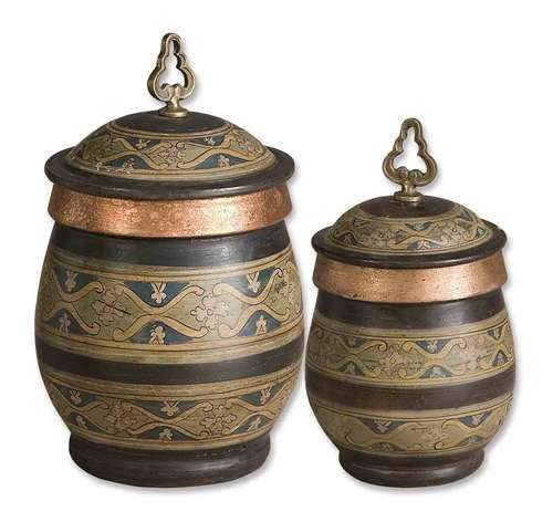 Uttermost 19134 Cena Canisters S/2 Accessories