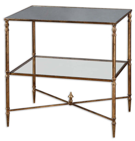 Uttermost 26120 Henzler Lamp Table Accent Furniture - UTMDirect