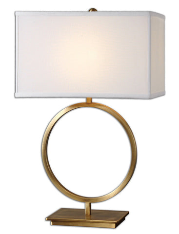 Uttermost 26559-1 Duara Circle Table Lamp - UTMDirect