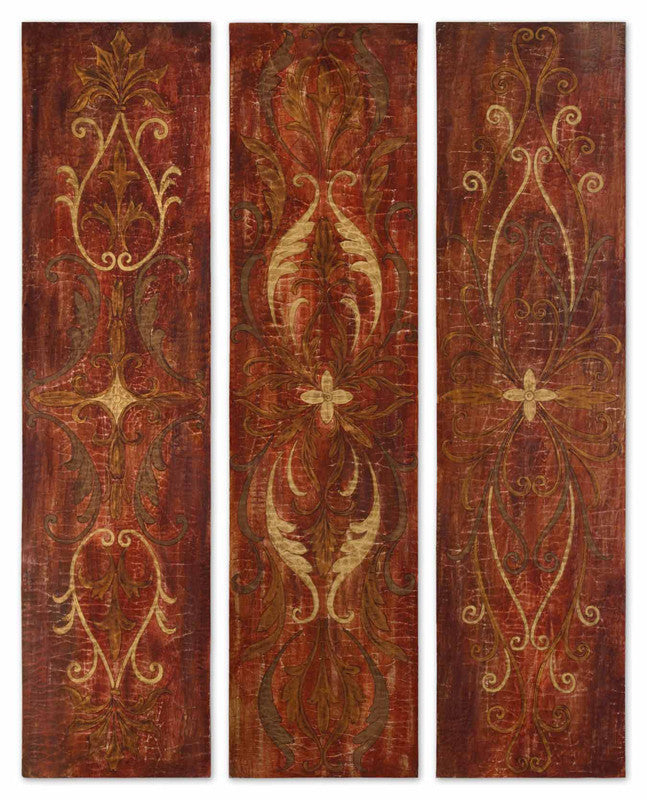 Uttermost 32160 Elegant Panels S/3 Art