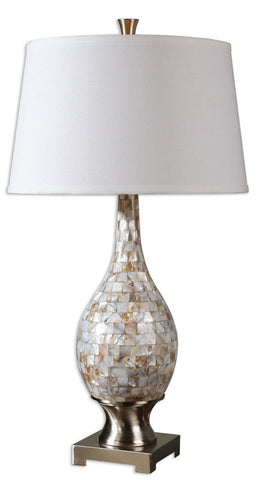 Uttermost 26491 Madre Mosaic Tile Lamp - UTMDirect