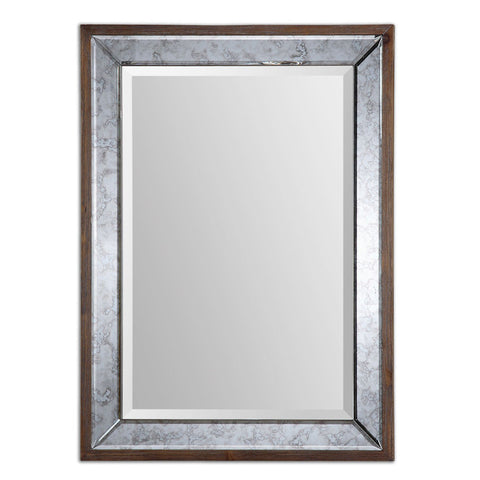 Uttermost 14487 Daria Antique Framed Mirror - UTMDirect