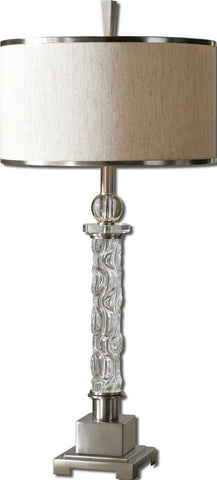 Uttermost 26762-1 Campania Glass Table Lamp - UTMDirect