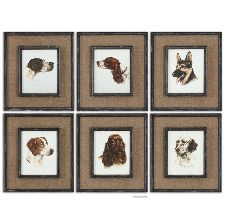 Uttermost 55001 Special Friends Wall Art Set/6