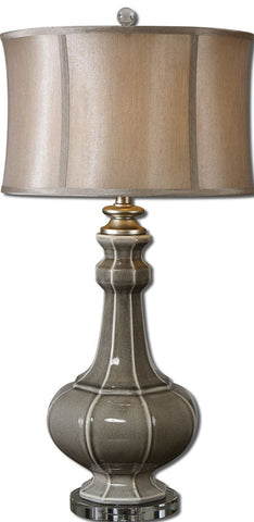 Uttermost 27427-1 Racimo Gray Table Lamp - UTMDirect