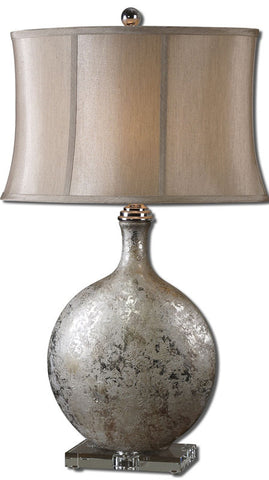 Uttermost 27428 Navelli Silver Table Lamp - UTMDirect