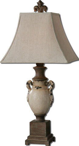 Uttermost 27437 Francavilla Ivory Table Lamp - UTMDirect