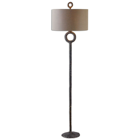 Uttermost 28633 Ferro Cast Iron Floor Lamp - UTMDirect