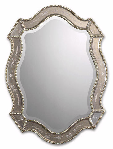 Uttermost 08026 B Felicie Oval Mirrors - UTMDirect