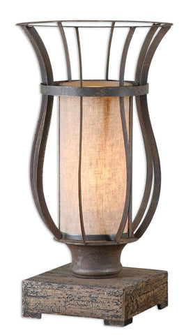 Uttermost 29573-1 Minozzo Bronze Accent Lamp - UTMDirect