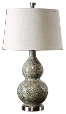 Uttermost 26299 Hatton Ceramic Lamp - UTMDirect