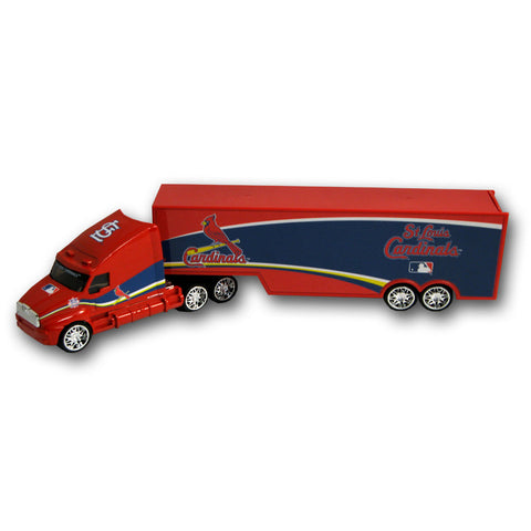 Top Dog 1:64 Tractor Trailer Transport - St. Louis Cardinals - Peazz.com