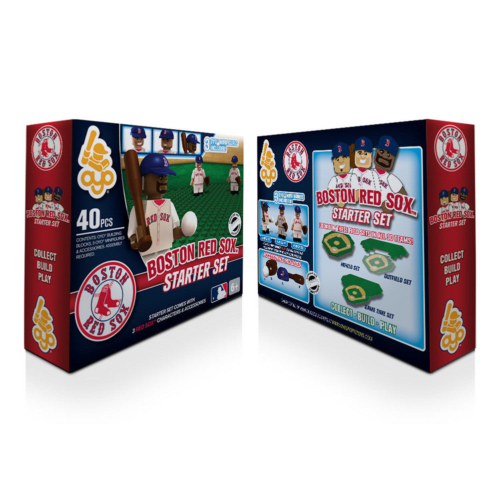 OYO MLB Practice Field Set  - Boston Red Sox