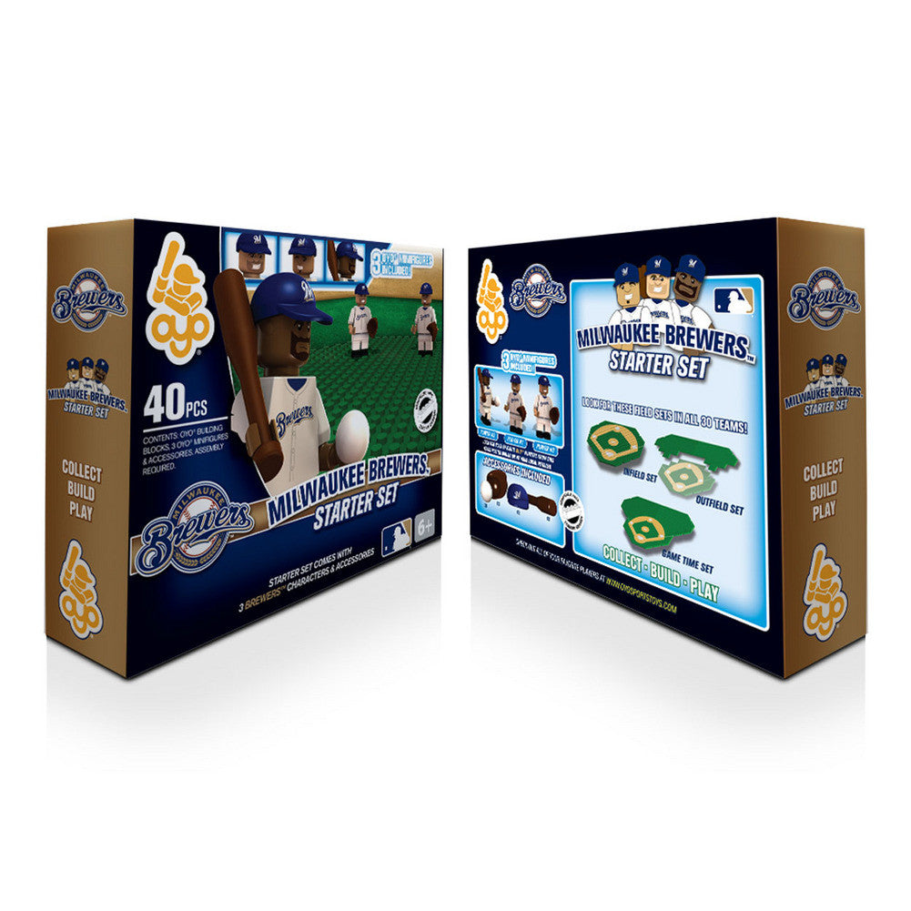 OYO MLB Practice Field Set  - Milwaukee Brewers
