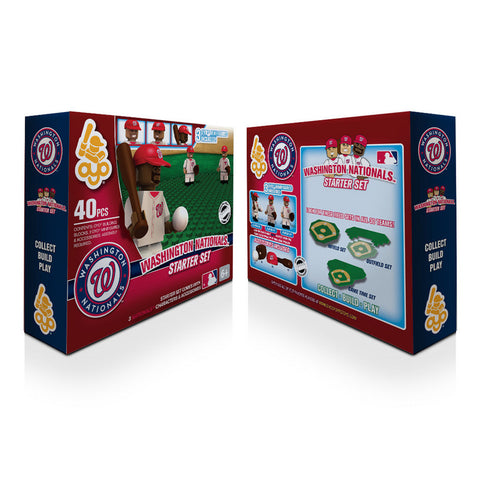 OYO MLB Practice Field Set -  Washington Nationals - Peazz.com