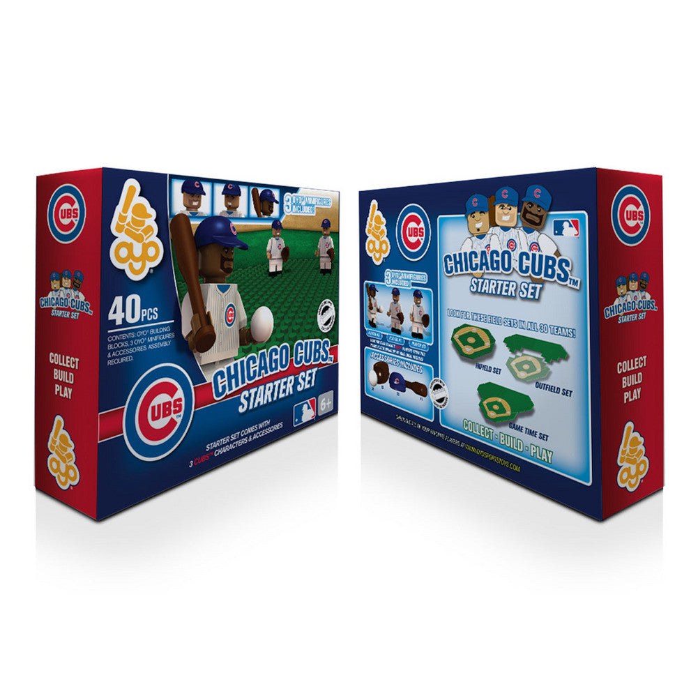 OYO MLB Practice Field Set  - Chicago Cubs