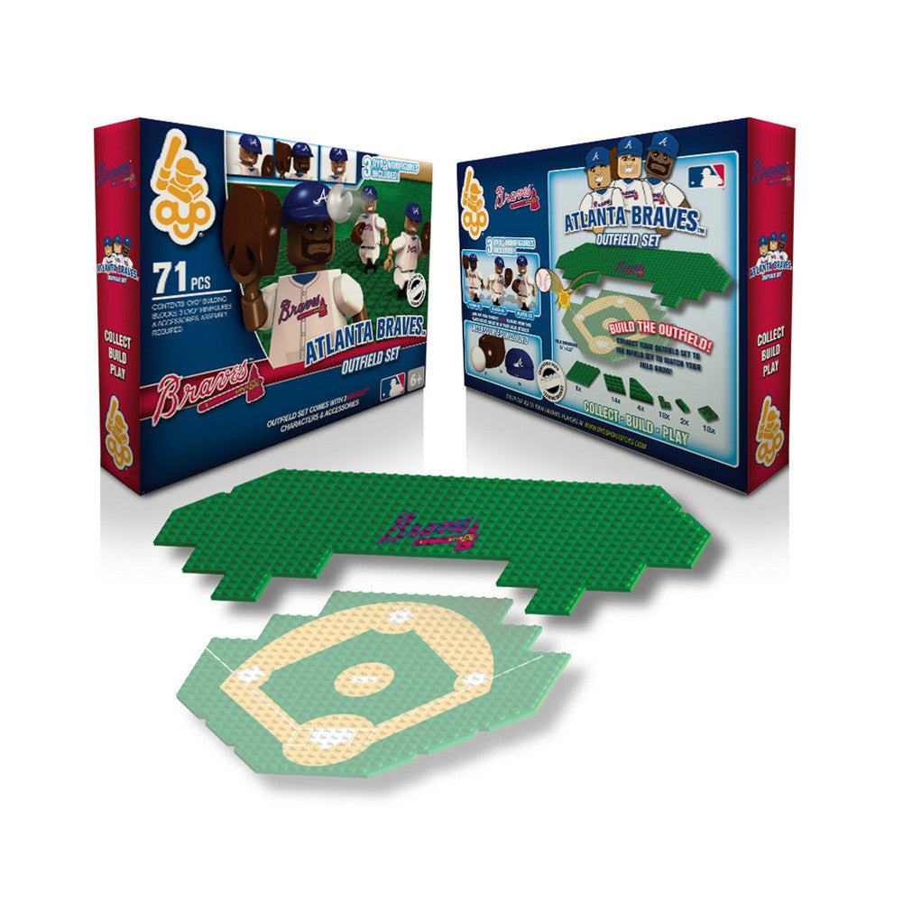 OYO MLB Outfield Set  - Atlanta Braves