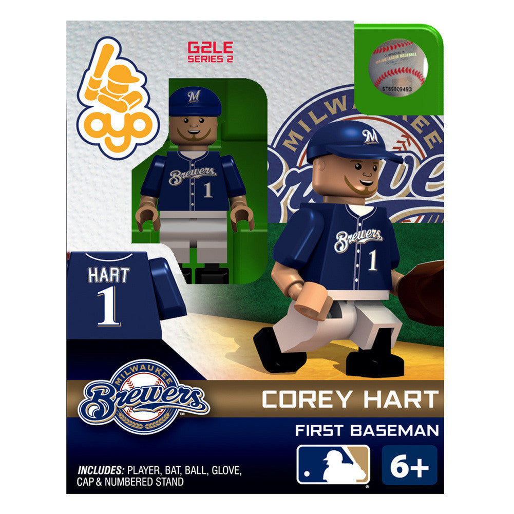 OYO Figure Milwaukee Brewers Corey Hart