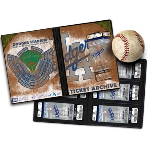 Ticket Album MLB - Los Angeles Dodgers (Holds 96 Tickets) - Peazz.com