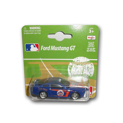 Ford Mustang 1:64 Style Diecast - New York Mets - Peazz.com
