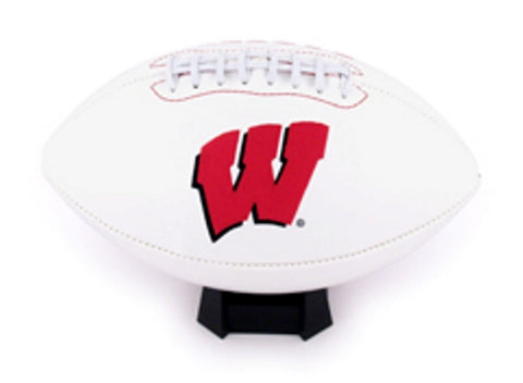 K2 Signature Series Full Size Team Footballs - University of Wisconsin Badgers - Peazz.com
