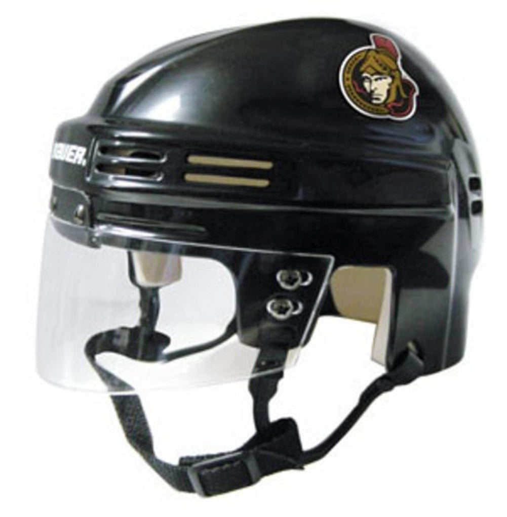 Official NHL Licensed Mini Player Helmets - Ottawa Senators