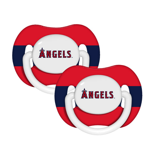 2-Pack Pacifiers - Los Angeles Angels of Anaheim - Peazz.com