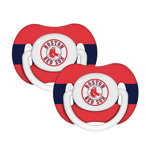 2-Pack Pacifiers - Boston Red Sox - Peazz.com