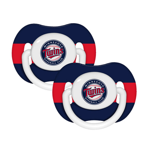 2-Pack Pacifiers - Minnesota Twins - Peazz.com
