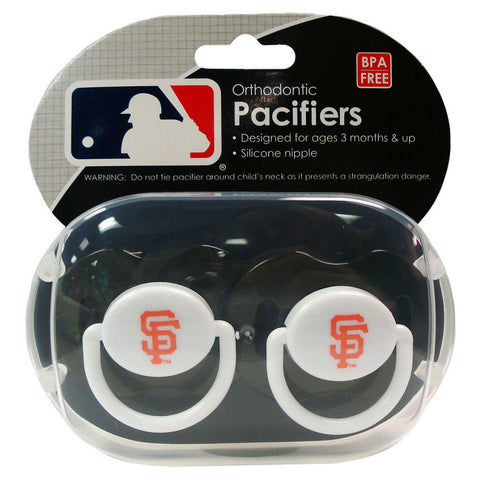 2-Pack Pacifiers - San Francisco Giants - Peazz.com
