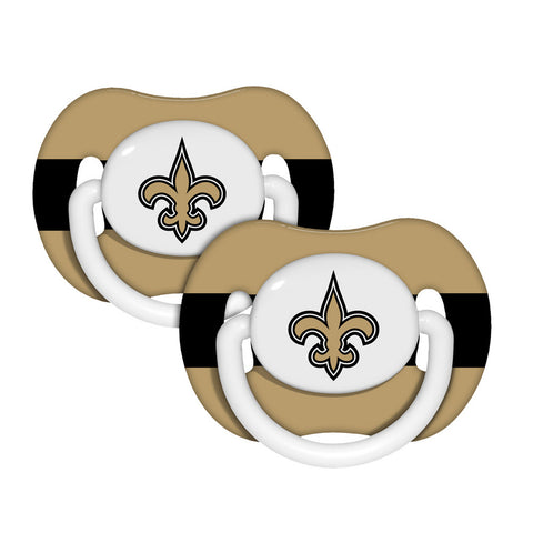 2-Pack Pacifiers - New Orleans Saints - Peazz.com