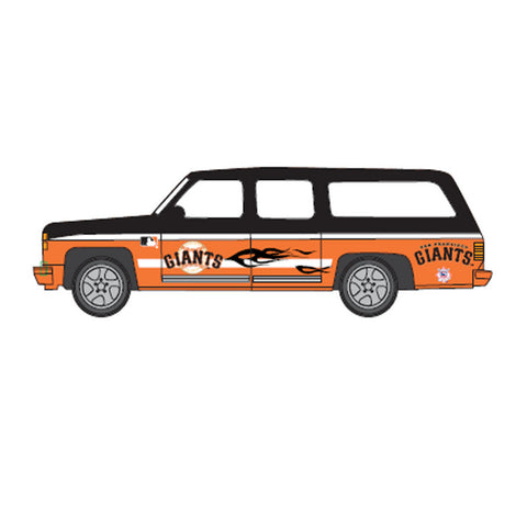 Top Dog 1:64 Scale San Francisco Giants Suburban - Peazz.com