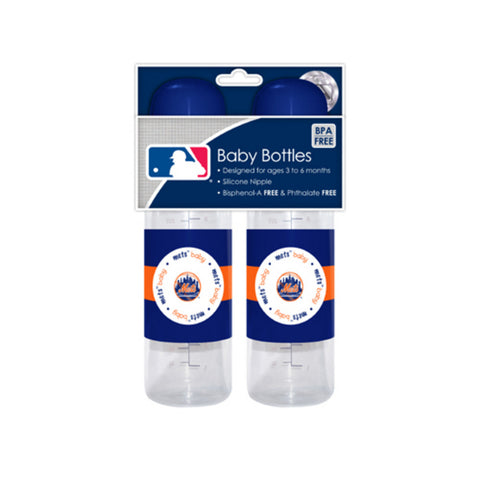 2-Pack of Baby Bottles - New York Mets - Peazz.com
