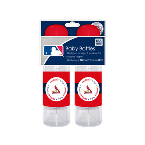 2-Pack of Baby Bottles - St. Louis Cardinals - Peazz.com