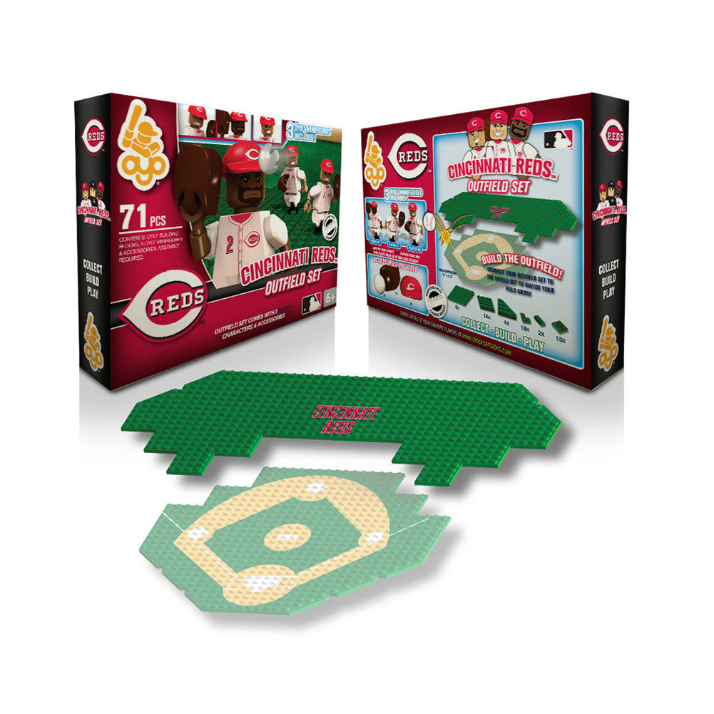 OYO MLB Outfield Set  - Cincinnati Reds