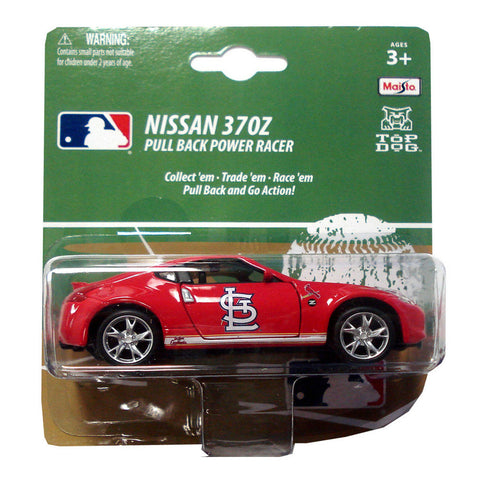 MLB Pull Back 300Z 1:43 - St. Louis Cardinals - Peazz.com