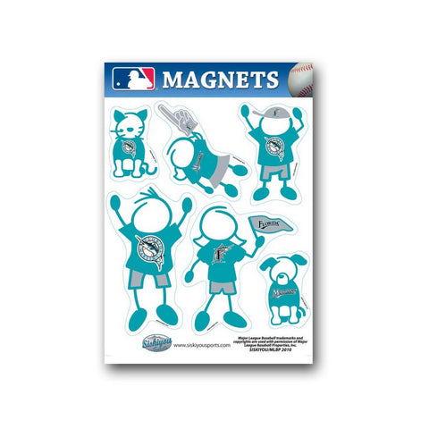 Family Magnets - Florida Marlins - Peazz.com