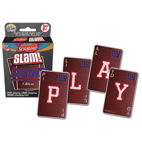 NFL Scrabble Slam - New York Giants - Peazz.com