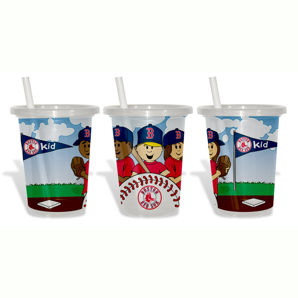 Baby Fanatic Sip N Go 3 Pack of Cups - Boston Red Sox SPI-BFBBBOSSGC